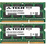 4GB KIT (2 x 2GB) For Asus AT Series AT5IONT-I AT5IONT-I Deluxe AT5NM10T-I. SO-DIMM DDR3 NON-ECC PC3-8500 1066MHz RAM Memory. Genuine A-Tech Brand.