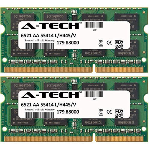 16GB KIT (2 x 8GB) For HP-Compaq Envy Series 17-3xxx (Intel DDR3) 17-j010us 17-j011nr 17-j013cl 17-j020us 17-j021nr 17-j023cl 17-j027cl 17-j029nr 17-j030us 17-j034ca 17-j037cl 17-j070ca 17-j073ca 17-j092nr 17t-j000 TouchSmart 4 4-1000et 4-1000sg 4-1000st 4-1001et 4-1001tu 4-1001tx 4-1002tu 4-1002tx 4-1003tu 4-1003tx 4-1004tx 4-1005tx 4-1006tx 4-1007tx 4-1008tx 4-1009tu 4-1009tx 4-1010ea. SO-DIMM DDR3 NON-ECC PC3-12800 1600MHz RAM Memory. Genuine A-Tech Brand. (1000st Kit)