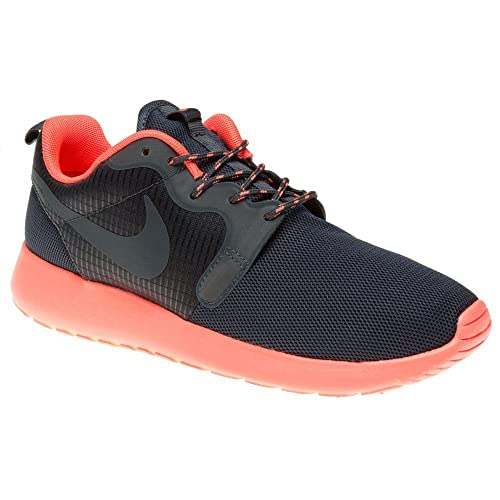 online store c75bd 47e53 Amazon.com   Nike Rosherun Hyp Womens Trainers 642233 Sneakers Shoes (UK 3  US 5.5 EU 36, Bright Mango Dark Magnet Grey 800)   Running