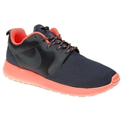 online store 47c11 ebdcf Amazon.com   Nike Rosherun Hyp Womens Trainers 642233 Sneakers Shoes (UK 3  US 5.5 EU 36, Bright Mango Dark Magnet Grey 800)   Running