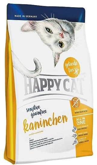 Happy Cat Sensitive Grain Free Rabbit Comida para Gatos ...
