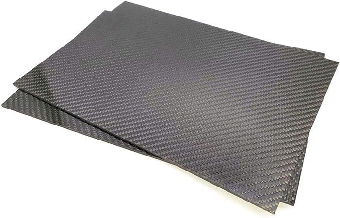 XuBa 200mmx300mm 3K Lastra in Fibra di Carbonio Opaca Lastra 0.5mm 1mm 2mm 3mm 4mm 5mm Materiale Composito ad Alta durezza RC 200X300X2mm
