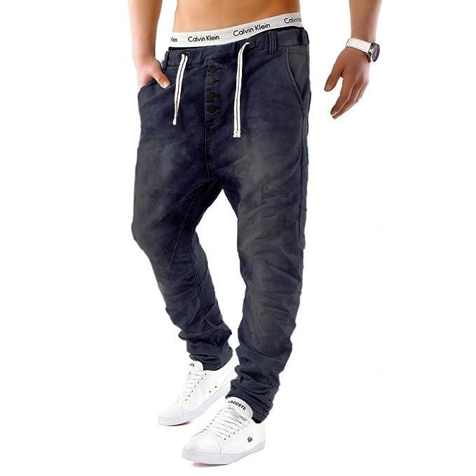 Größe 7 unschlagbarer Preis heißer Verkauf online EGOMAXX Urban Surface Herren Jogging Denim Haremshose Baggy Pants