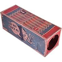Hankyky Cat Play Tunnels Faltbarer 2-Wege-Tunnel Papiertüte Tube Toy Cat House Für Kaninchen, Kätzchen, Frettchen, Haustier