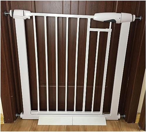 LSRRYD Barrera Extensible Perros Tubería De Hierro Barreras para Puertas Y Escaleras para Cocinas Salas De Lavandería Dormitorios Y Salas De Juegos (Size : 76-83x78cm): Amazon.es: Hogar