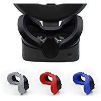 AMVR VR Silicone Protective Face Cover Mask & VR Lens Cover for Oculus Rift S Headset Sweatproof Waterproof Anti-Dirty…