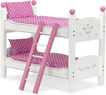 Amazon Com 18 Inch Doll Furniture Bed For American Girl Dolls 2