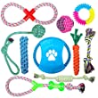 Unish Puppy Pets Dog Rope Toy Assortment for Small Medium Large Dogs