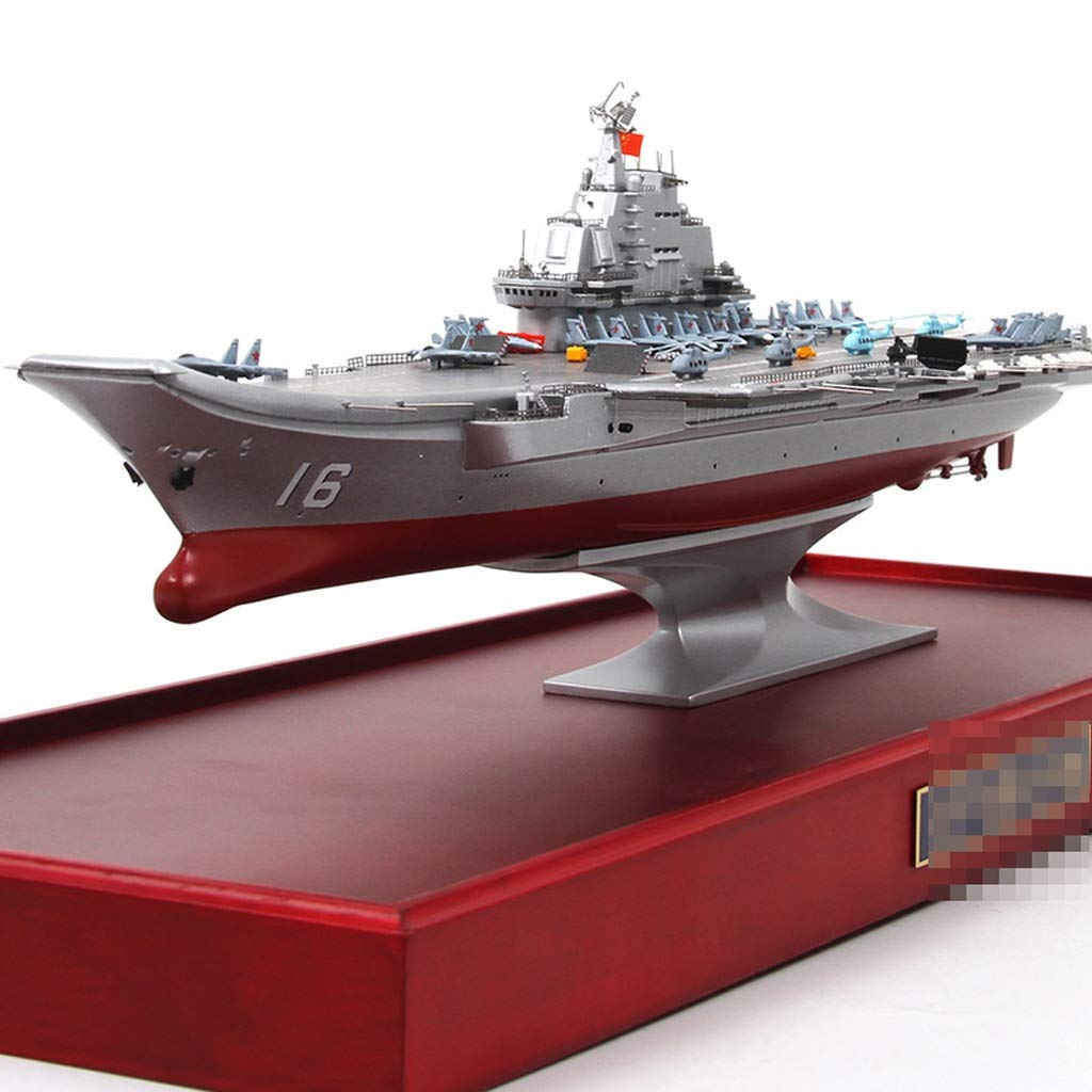 WJP Simulation Nautical Warship Model Alloy Aircraft Carrier Model Adult Model Making Ornaments / Gifts / Collection / Crafts