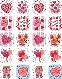 Teacher Created Resources Valentine's Day Stickers, Multi Color (1258)