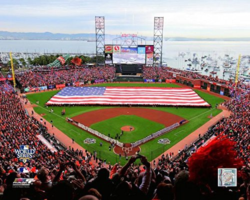 AT&T Park San Francisco Giants 2010 World Series MLB Stadium Photo (Size: 8