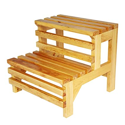 Groovy Wooden 2 Step Stool Flower Stand Low Stool Nordic Shoes Ibusinesslaw Wood Chair Design Ideas Ibusinesslaworg