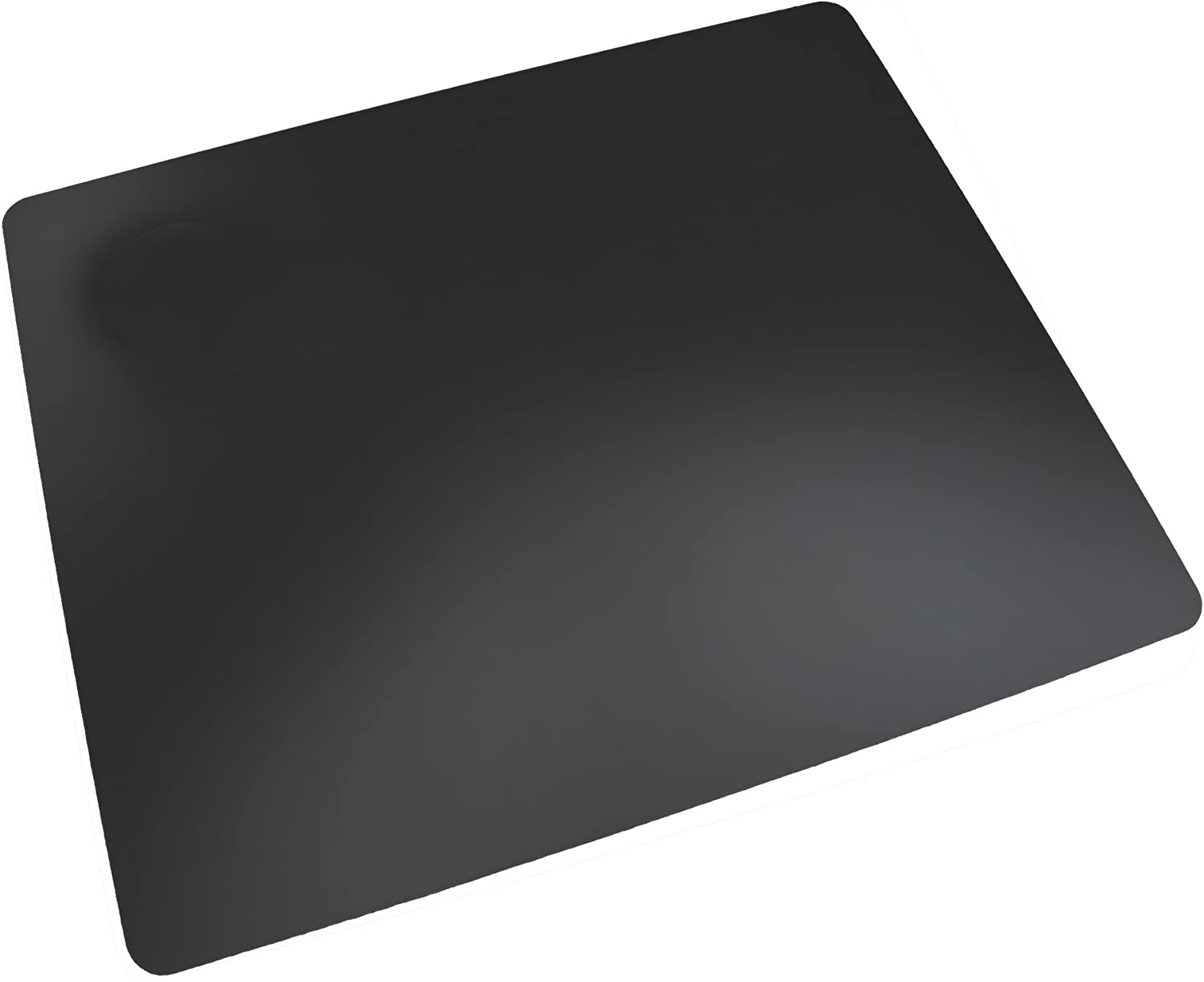 """Artistic 17"""" x 24"""" Rhinolin II Ultra-Smooth Writing Pad Desk Mat with Exclusive Microban Antimicrobial Protection, Black"""