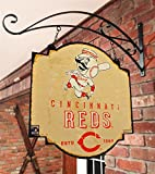 MLB Cincinnati Reds Tavern Sign, One Size, Red
