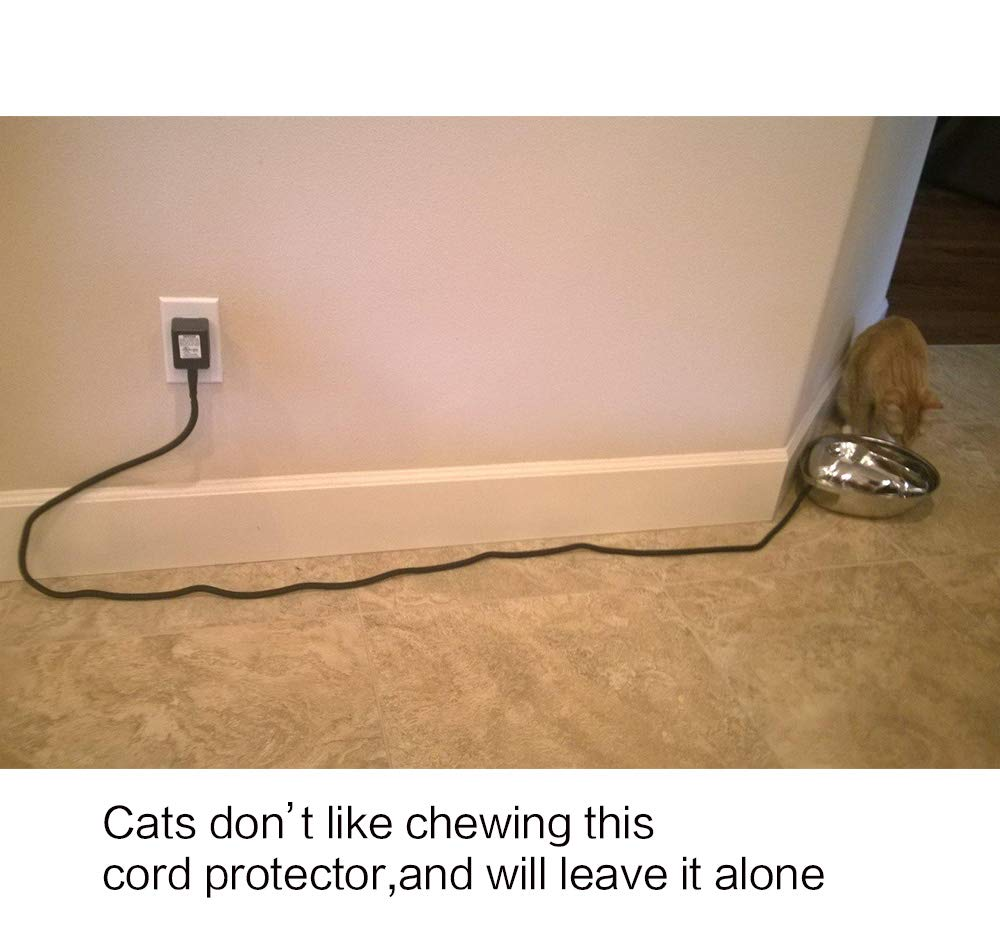 Amazon.com: Protector de cable para perro keco, protege a ...