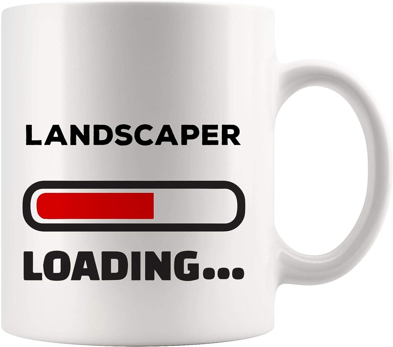 Amazon Com Loading Future Landscaper Mug Best Coffee Cup Gift College Graduation Student Back To School Landscape Architecture Architect Gardener Gardening Funny World Best Gift Mom Dad Kitchen Dining
