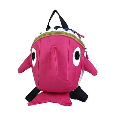 Bolsa de tiburón para bebé, Mochila de Dibujos Animados 3D ...