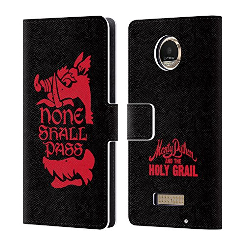 Official-Monty-Python-None-Shall-Pass-Key-Art-Leather-Book-Wallet-Case-Cover-For-Motorola-Moto-Z-Play-Moto-Z-Play-Droid