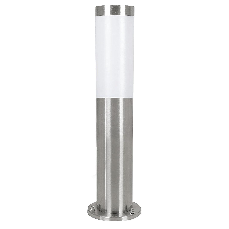 Eglo 81751Helsinki Stainless Steel Outdoor Light, Diameter 7.5cm Height 45cm, Steel