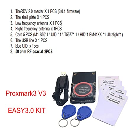 Hima Elechouse Proxmark3 Kit RDV2 for RFID HID UID Clone NFC