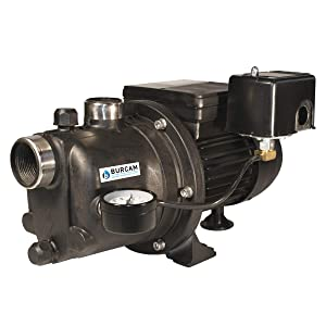 BURCAM 506221PZ 3/4 HP Noryl Shallow Well Jet Pump