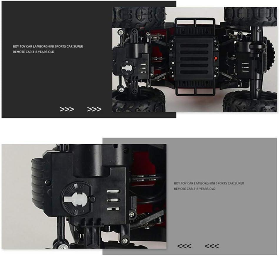 BJ&HH 1:14 RC Off-Road Escalade Voiture 2.4G Télécommande Crawler Véhicule Modèle Militaire Camion Jouet pour Enfants Cadeau Blue