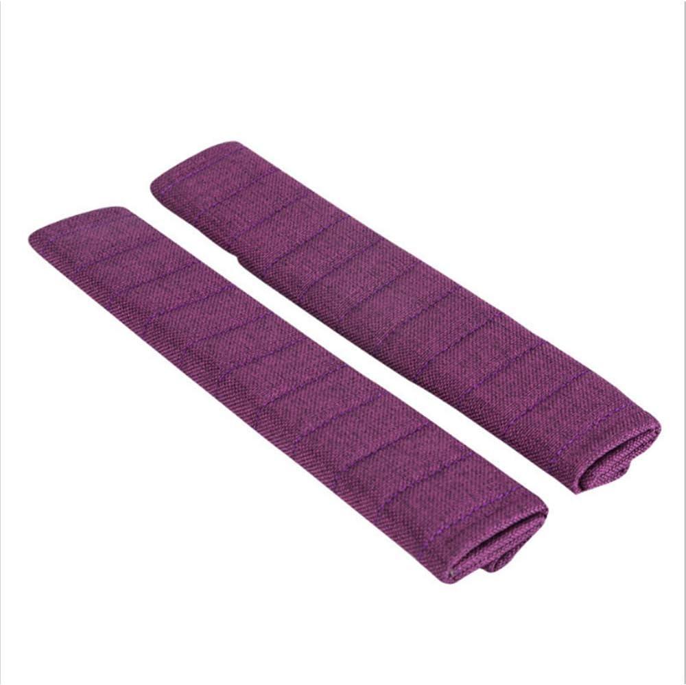 2 Packs Linen Car Seat Shoulder Pads Seatbelt Pillow Fochutech Seatbelt Cover Shoulder Strap Breathable /& Skincare Seatbelt Cushion Beige A Must Have for a More Comfortable Driving