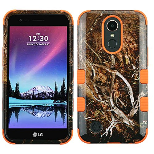 MyBat TUFF Hybrid Phone Protector Cover [MilitaryGrade Certified](with Package) - LG V5 - Yellow/Black Vine/Orange