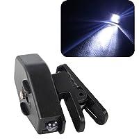 Vikenner Flexible LED Clip On Mini Book Reading Light Adjustable LED Night Lamp for Eyeglasses - Black