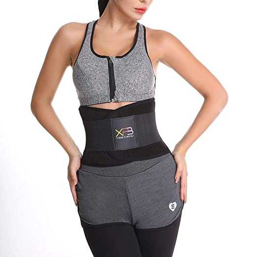 17493950e4 Allywit- Women Waist Trainer Belt - Waist Cincher Trimmer - Slimming Body  Shaper Belt -