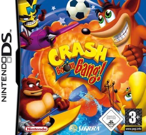 CRASH BOOM BANG / SOLO CARTUCHO / Nintendo DS Juego EN ESPANOL Compatible Nintendo DS LITE-DSI-3DS-2DS-3DS XL-2DS XL-NEW 3DS-NEW 3DS XL-NEW 2DS XL: Amazon.es: Videojuegos