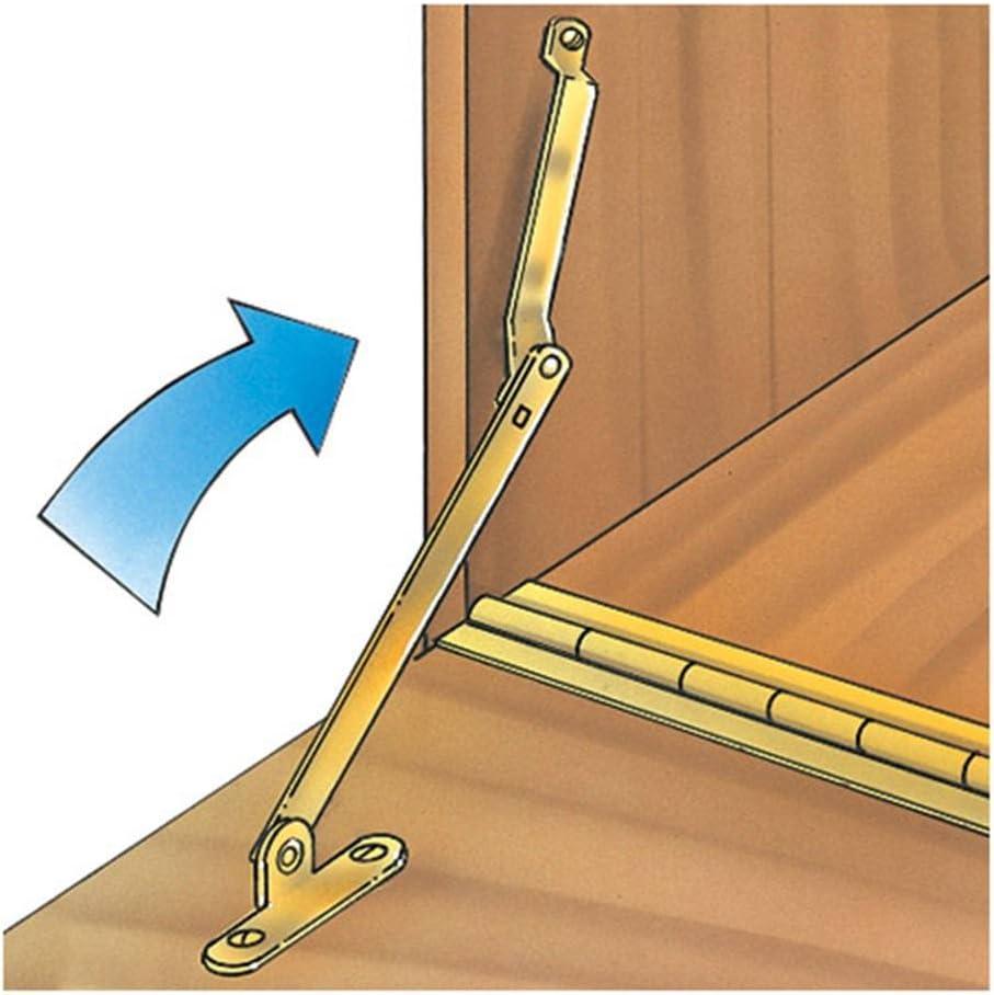 Left /& Right Set Folding Drop Front Desk Trunk Lid Support Stays Hinges #X26
