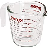 Pyrex Prepware 8-Cup Measuring Cup Frustation Free Packaging 2 Cup Clear