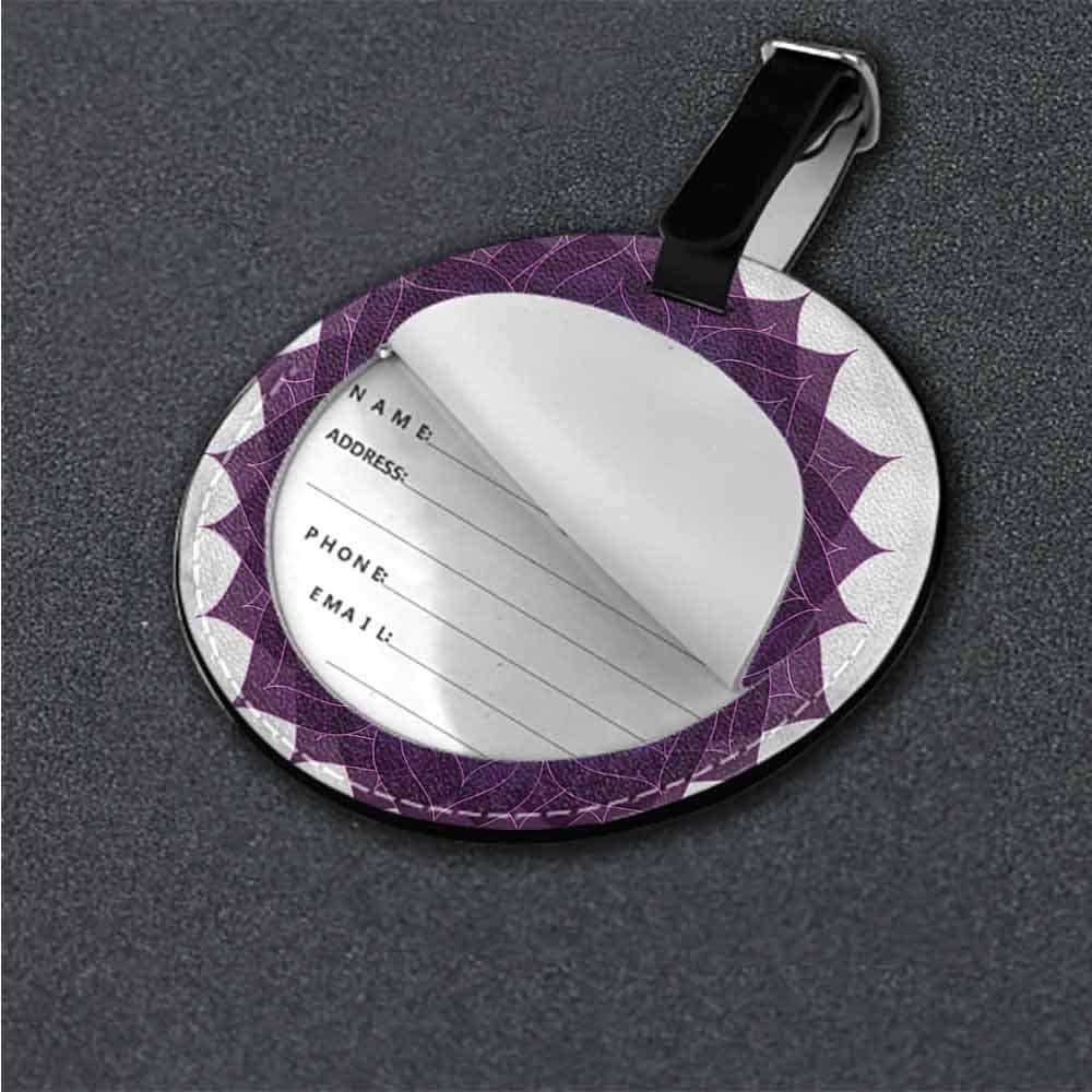 Personalized Chakra,Arabic Letter Chakra Tag Portable Women