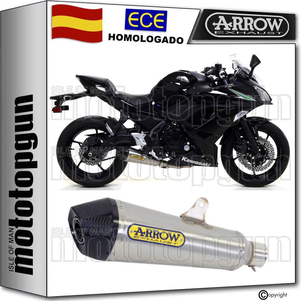 ARROW TUBO DE ESCAPE HOMOLOGADO X-KONE FONDO CARBY NINJA 650 2019 19 71854XKI