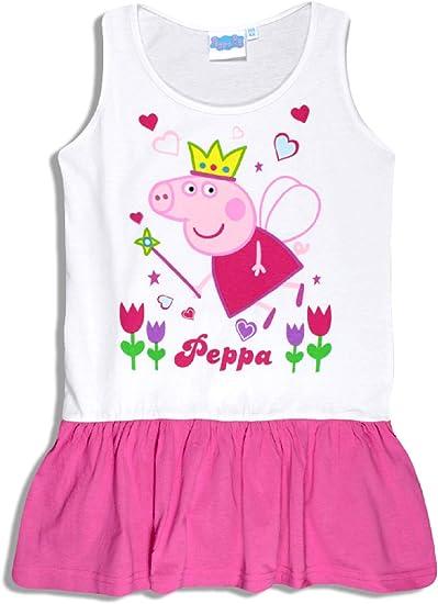 Peppa Pig Girls - Vestido - para niña Multicolor Multicolor 4 Años ...