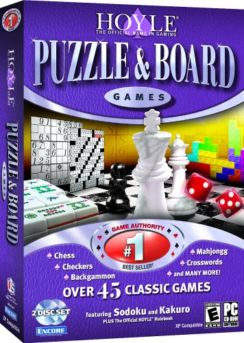 Hoyle Puzzle Board Games 2007 PC