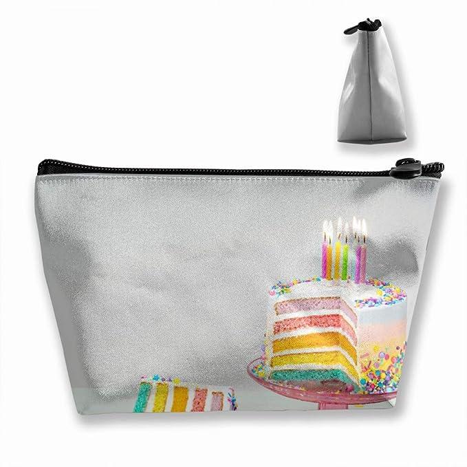 Amazon Trapezoid Toiletry Pouch Portable Travel Bag Birthday