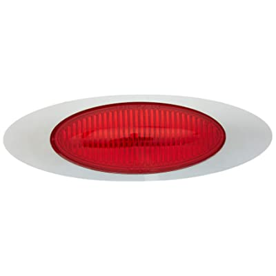 Grote 45572 Red M1 Series Clearance Marker Light (0.180 Molded Bullet with Bezel): Automotive