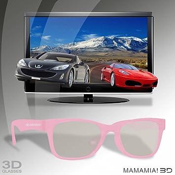 Thumbs Up 3D gafas polarizadas - Mamma Mia rosa - tamaño pequeño (pasivo 3D)