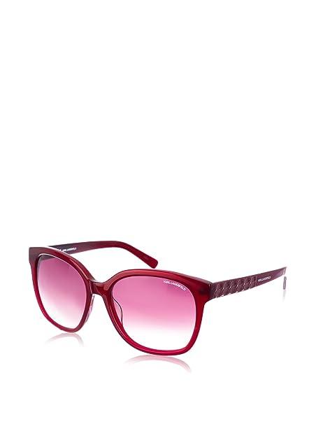 Karl Lagerfeld Gafas de Sol KL865S-015 (56 mm) Burdeos ...
