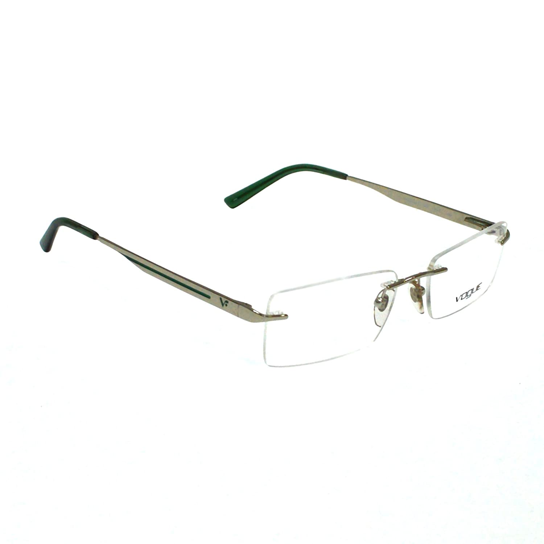 Amazon.com: Vogue Mens Rectangular Eye Frame: Clothing