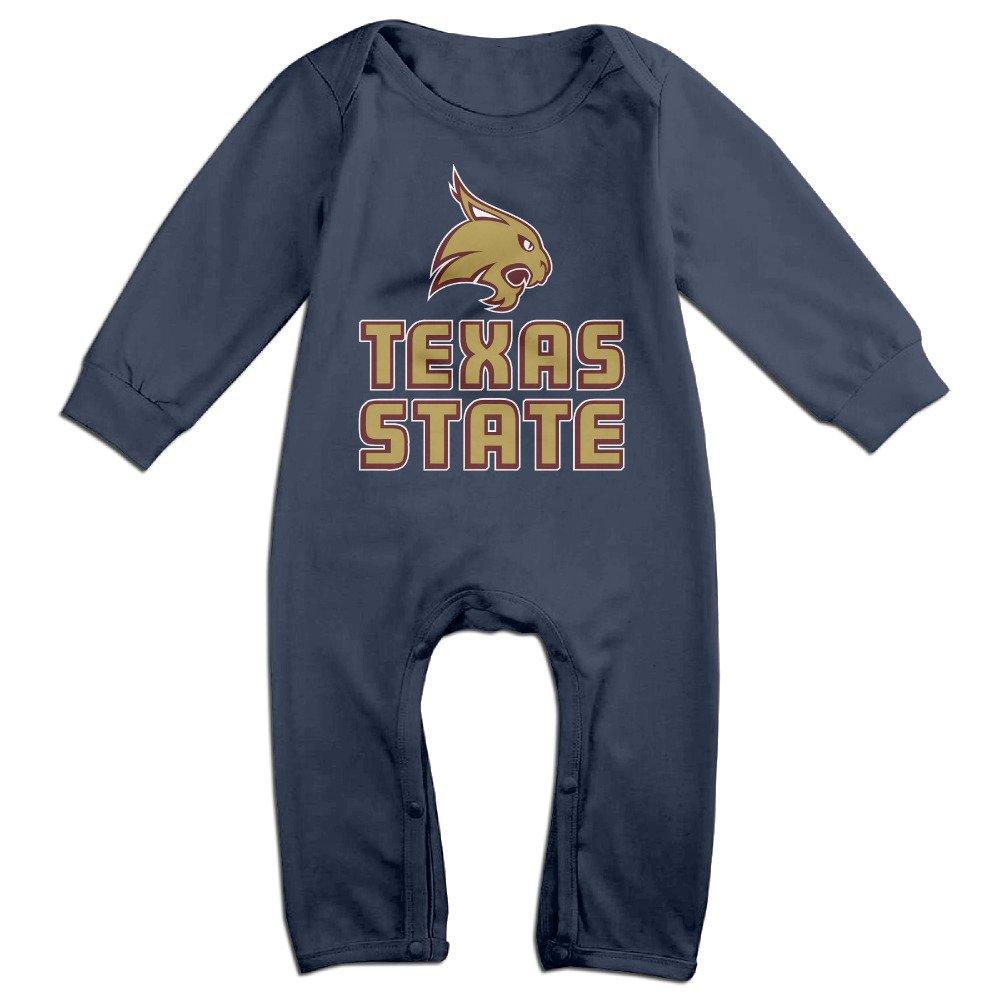 85c9d3e34 Amazon.com  Texas State Bobcats Funny Long Sleeves Variety Baby ...