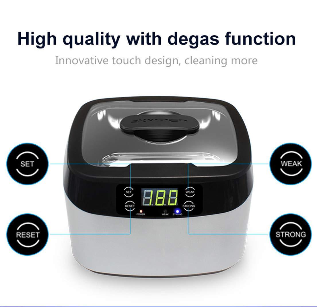 FENGCLOCK Limpiador ultrasónico de Gran Capacidad para ...