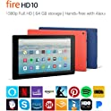 "Amazon Fire HD 10 10.1"" 64GB Tablet"