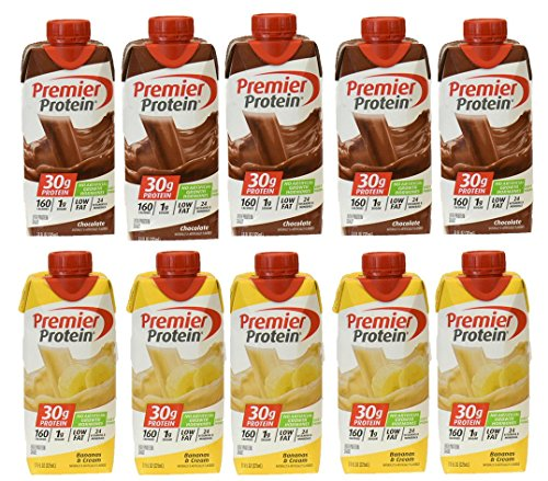 Premier Protein – 10 Pack (Chocolate-Banana)