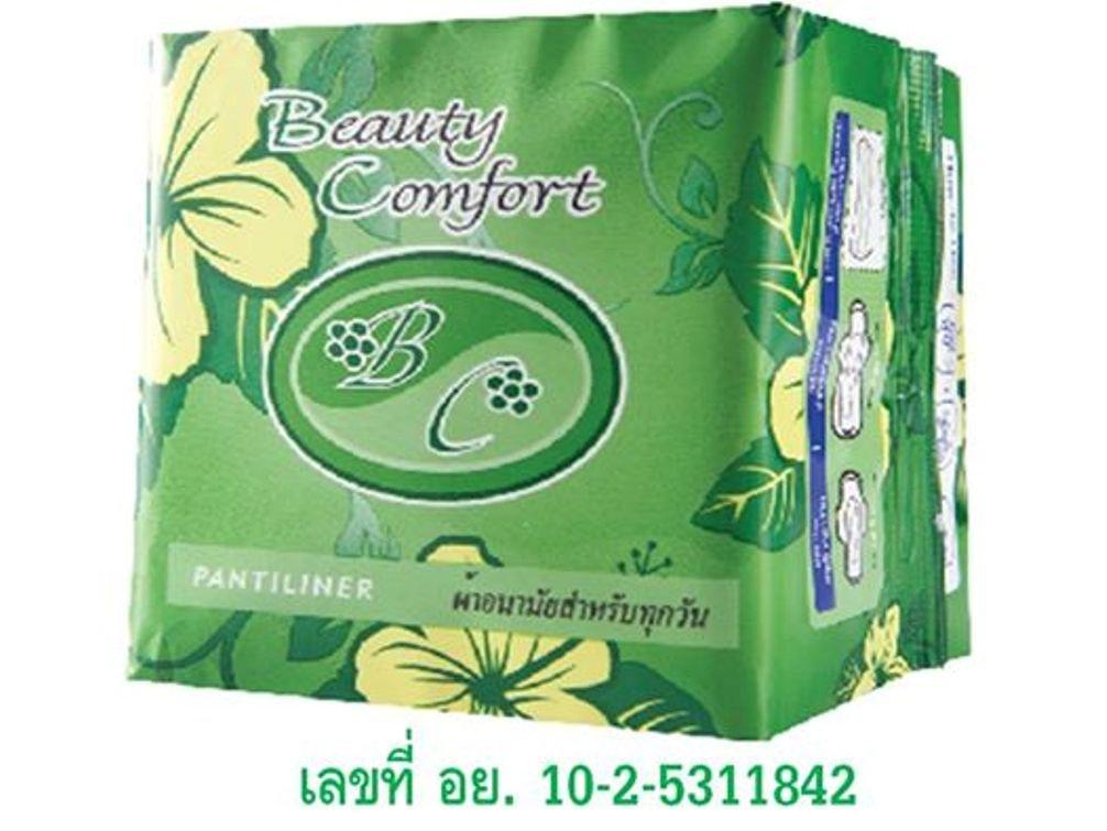 Happyland2u Bio Sanitary Pads Beauty Comfort - Bio Sanitary Pads for Daily Used Pantiliner 1 Bag/10 Pack. Long 16 Cm. by Happyland2u (Image #5)