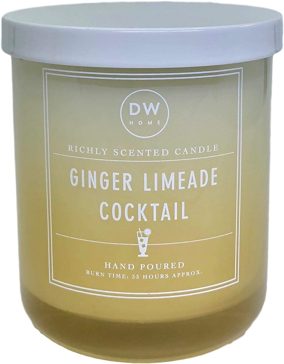 DW Home Ginger Limeade Cocktail Scented Candle