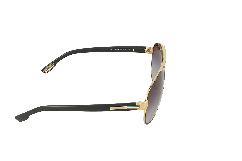 5b80f96a0b35 D G Dolce   Gabbana Aviator Sunglasses (DG 2099)  Amazon.in  Clothing    Accessories