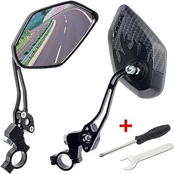 GES - Espejos retrovisores para Bicicleta, 360 Grados, Ajustables ...